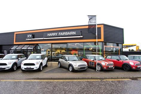 Dealer Details for Harry Fairbairn MINI (Irvine)