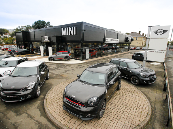Dealer Details for Harry Fairbairn MINI (Glasgow)