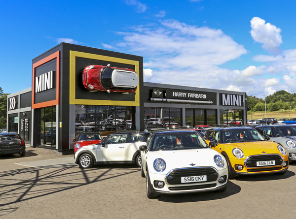 Dealer Details for Harry Fairbairn MINI (Kirkcaldy)