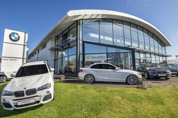 Dealer Details for Harry Fairbairn BMW (Kirkcaldy)
