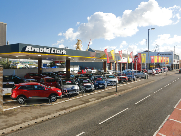 Dealer Details for Greenock Vauxhall