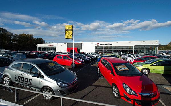 Dealer Details for Glasgow Vauxhall
