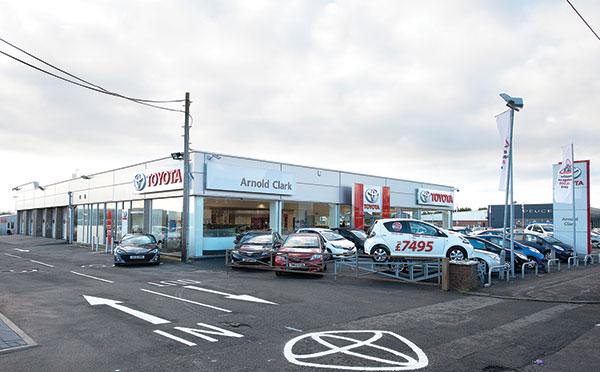 Dealer Details for Glasgow Toyota