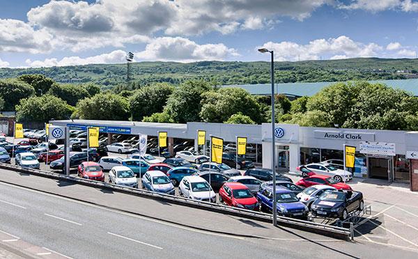 Dealer Details for Greenock Volkswagen
