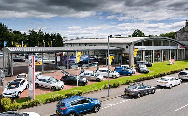 Dealer Details for Glasgow Bishopbriggs Toyota