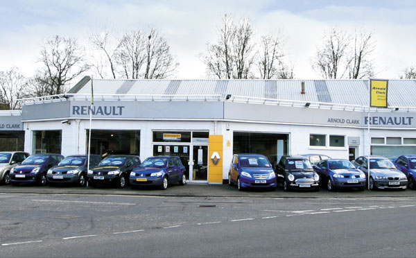 Dealer Details for Bearsden Renault / Dacia