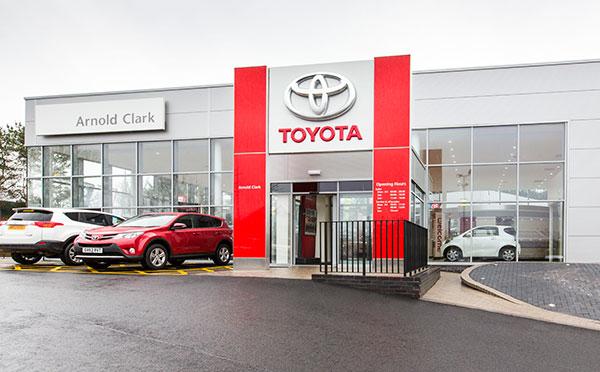 Dealer Details for East Kilbride Toyota