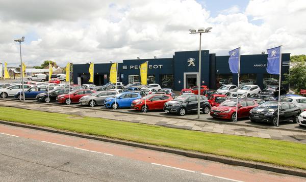 Dealer Details for Kilmarnock Peugeot / Toyota