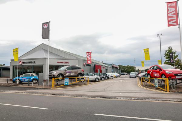 Dealer Details for Stoke Vauxhall