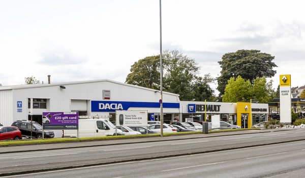 Dealer Details for Dumbarton Renault / Dacia
