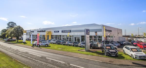 Dealer Details for Dundee Renault / Hyundai / Dacia