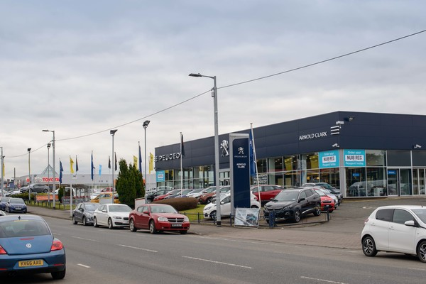 Dealer Details for Glasgow Peugeot
