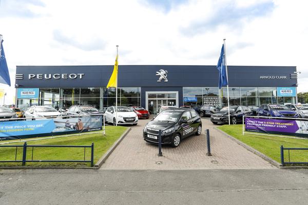 Dealer Details for Glasgow Peugeot