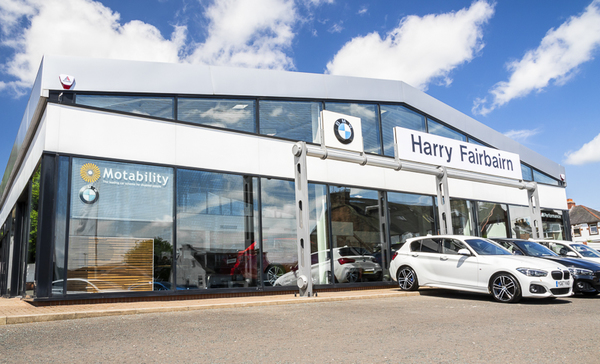Dealer Details for Harry Fairbairn Dumfries BMW/MINI